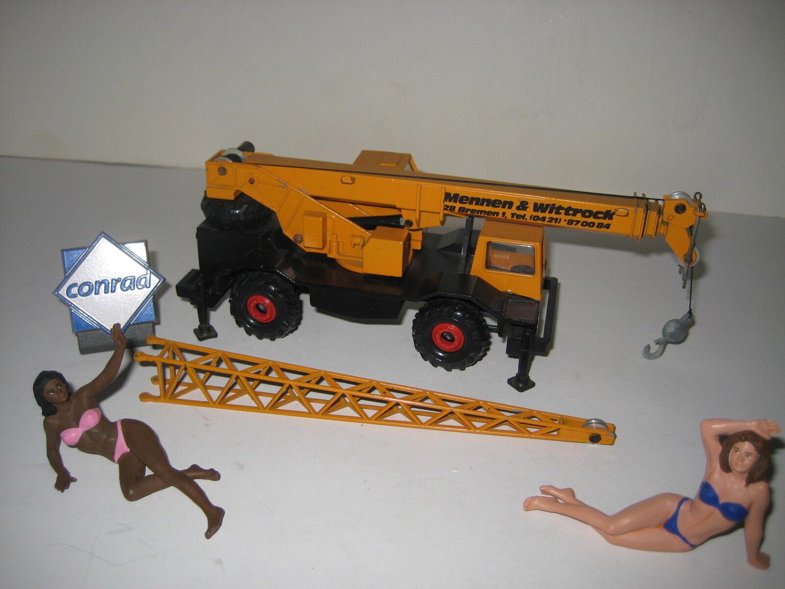 Liebherr LTM 1030 Mobiele Crane mennen ^ Wittstock Conrad 1:50