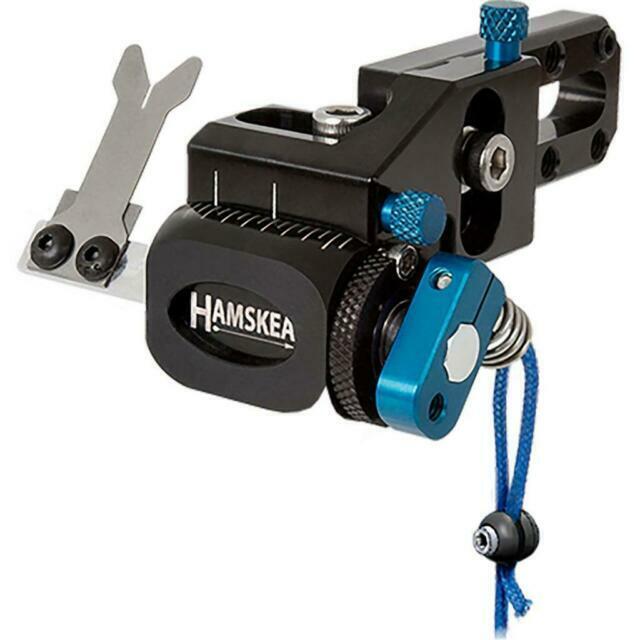 Hamskea Hybrid Target Pro Micro Tune Rest RH Blue