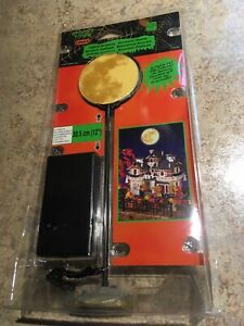 Lemax-Lighted-Full-Moon-Holiday-Village-Spooky-Town-TRAIN-Accessory