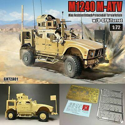 T-Model All Terrain Vehicle Model Set GALAXY HOBBY GH72A01 M1240 M-ATV MRAP 1:72