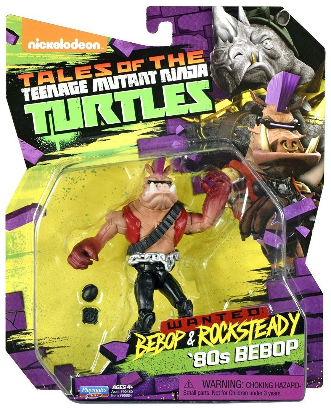 Tales of the TMNT Wanted Bebop & Rocksteady '80s Bebop azione cifra