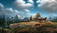 Terry Redlin O Beautiful For Spacious Skies S/n Paper, Limited Edition