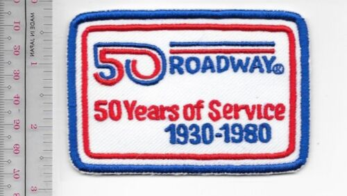 Vintage Trucking /& Van Lines Ohio Roadway Express Inc 50 years 1930-1980 Akron,