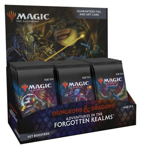 Adventures in the Forgotten Realms Set Booster Box Magic the Gathering Presell