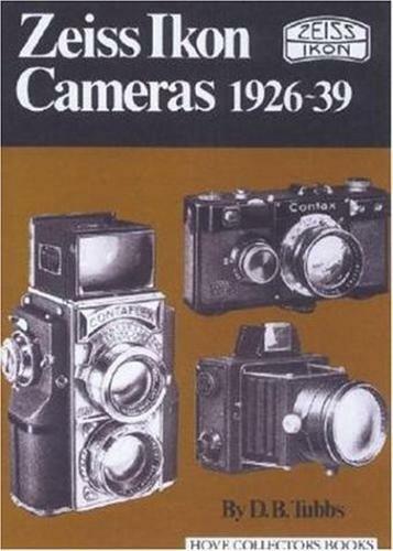 Zeiss Ikon Fotocamere,1926-39 ( Hove Collezionisti Libri) di D.B.Tubbs ,Nuovo