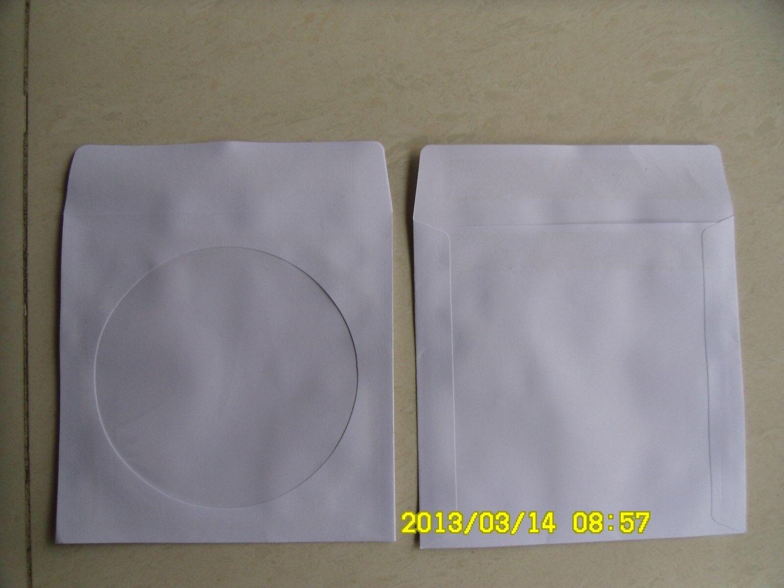 1000 120G NEW PAPER SLEEVE W WINDOW & GUMMED FLAP JS212