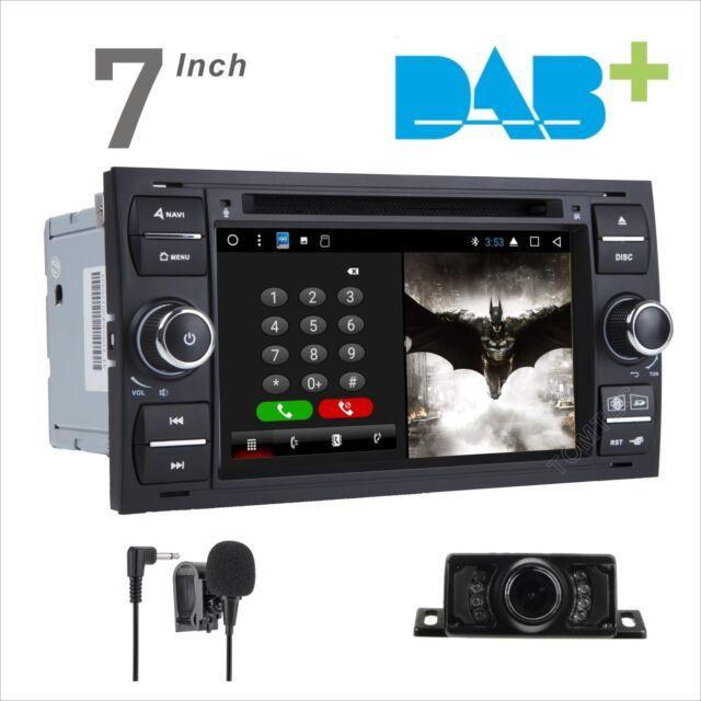 Ford Transit Mk7 Kuga Android 7.1 HeadUnit DAB Radio GPS Sat Nav WiFi Stereo DVD