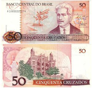 Brazil-50-Cruzados-P-210b-1986-88-Banco-Central-do-Brasil-UNC