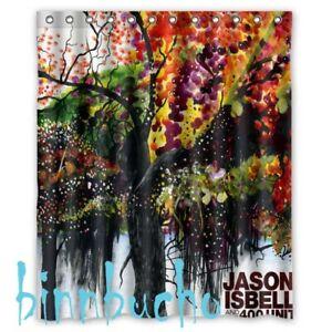 New Bath Curtain Jason Isbell And The 400 Unit Custom Shower Curtain 60x72 Inch Ebay