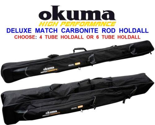 OKUMA MATCH CARBONITE ROD HOLDALL FOR COARSE CARP FLOAT FEEDER SPOD MARKER RODS