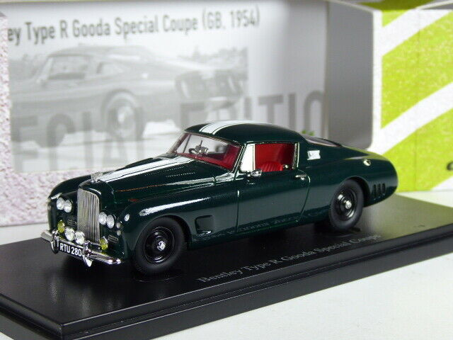(ki-02-20) autocult bentley type r gooda special coupe in 1 43 in ovp