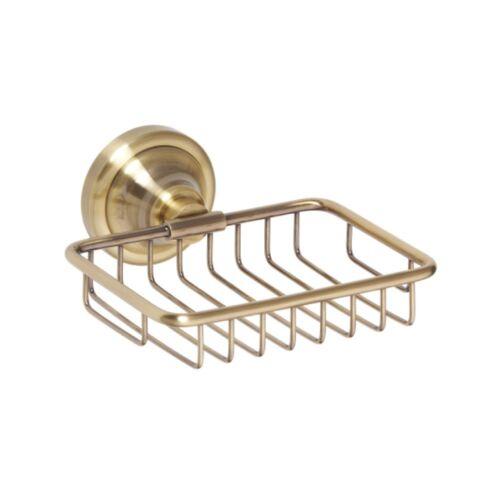 Seifenkorb 140x65x142mm Bronze Badartikel Bad Zubehör Seifenablage Lagerdeal WOW