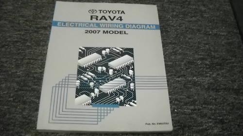 2007 Toyota Rav4 Rav 4 Electrical Wiring Diagram Service