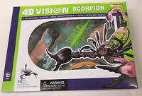 4d Vision Scorpion Anatomy Snap Together Model Kit