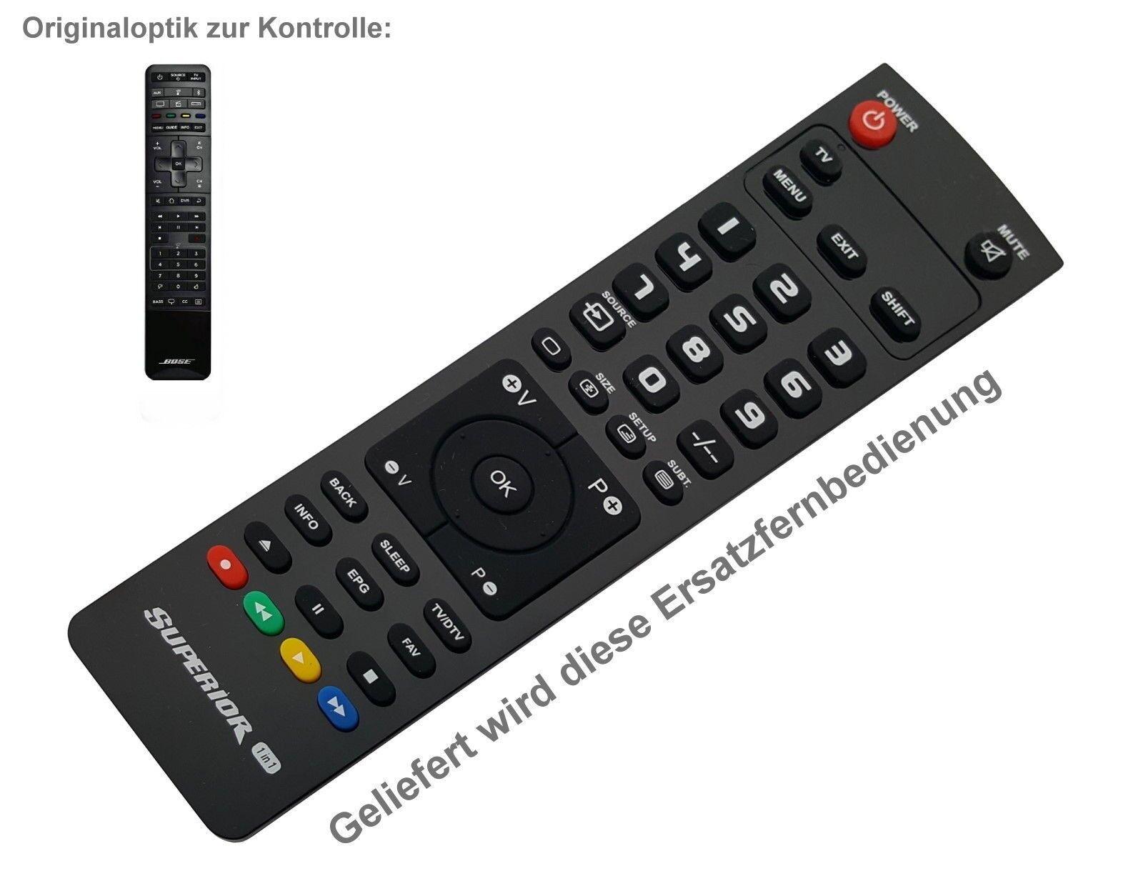 NEUWARE Ersatz Fernbedienung für BOSE HI-FI Soundtouch 300 Soundbar