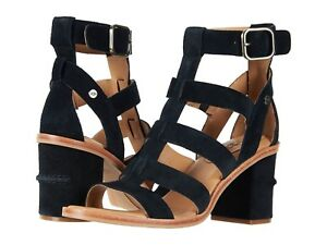 550f6072192 Details about Women's Shoes UGG Macayla Strappy Block Heel Sandal 1090434  Black *New*