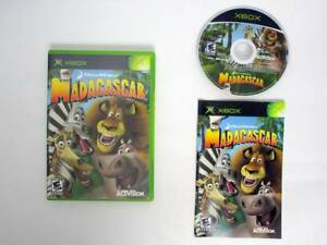 Madagascar-game-for-Microsoft-Xbox-Complete