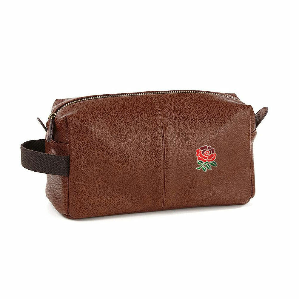 EGGCATCHER england rugby wash kit bag [brown]