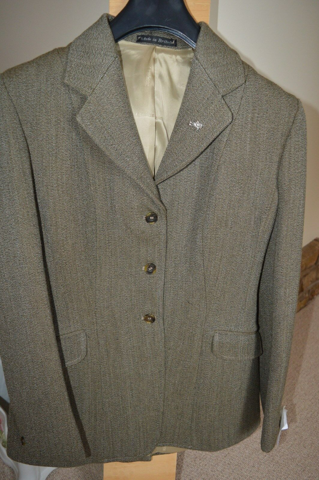 Damas Chaqueta CALDENE Calidad Peso Keepers Tweed 38  y 40
