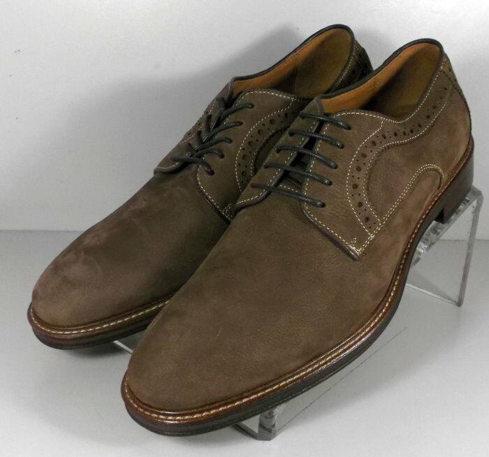 271876 SP50 Men's Shoes Size 9 M Brown Leather Lace Up Johnston & Murphy