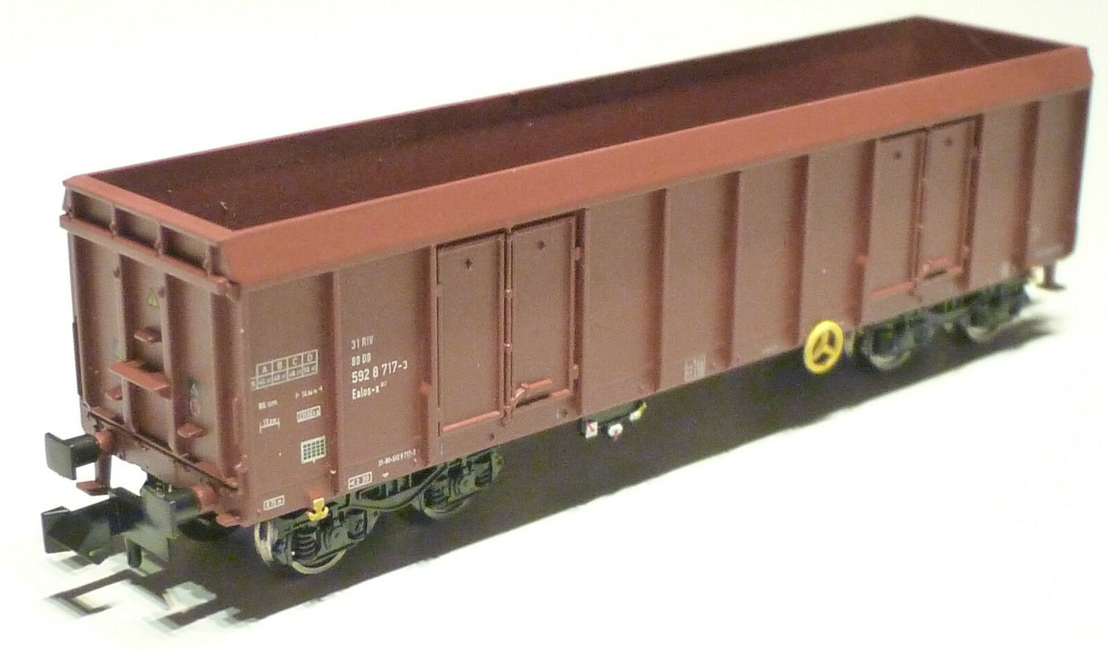 MTR N DB AG Holztransportwagen Bauart Ealos-x brown ME100201-A NEU OVP