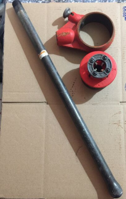 RIDGID 12-r Ratchet Die Head Pipe Threader 12r VG for sale online