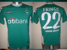 Werder Bremen FRINGS Shirt Kappa Adult Medium Jersey Trikot Football Soccer Top