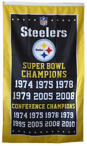 Pittsburgh-Steelers-6x-Super-Bowl-NFL-Championship-Flag-3x5-ft-Sports-Banner