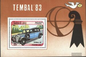 Laos-Block95-kompl-Ausg-postfrisch-1983-Briefmarkenausstellung