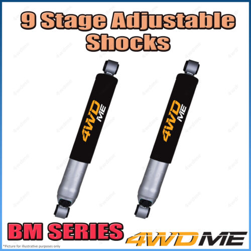 "Ford Courier PC PD PE PG PH 4WD Rear 9 Stage BM Shock Absorbers 2"" 40mm Lift"