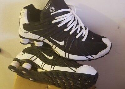 cheaper dab56 878bc Nike Shox NZ Turbo OZ SI men 7.5 black white.kept in storage. good