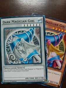 1st Edition NM YuGiOh Dark Magician Girl LDK2-ENY11 Common