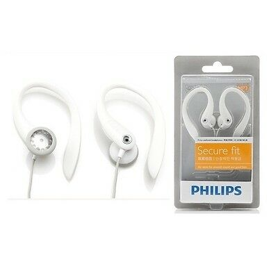 Philips SHS3201 Flexible Earhook Headphones Secure fit /GENUINE