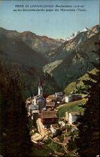 Pieve di Livinallongo AK ~1910/20 an der Dolomitenstraße gegen die Marmolata
