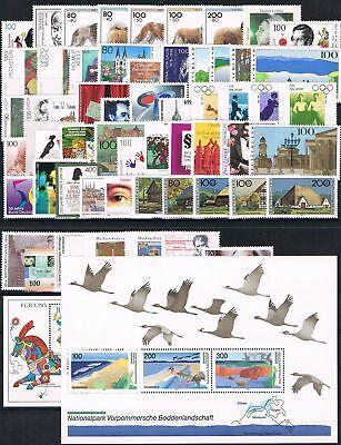 Brd Jahrgang 1996 Komplett, Postfrisch Ideales Geschenk FüR Alle Gelegenheiten