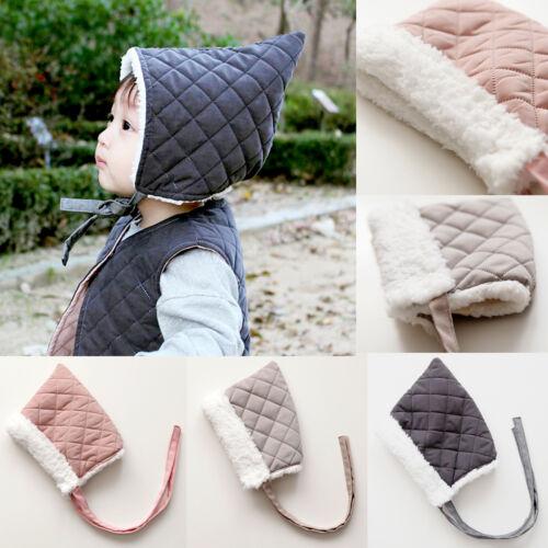 Cute Newborn Baby Winter Hat Fairy Cap Infant Toddler Handmade eb258
