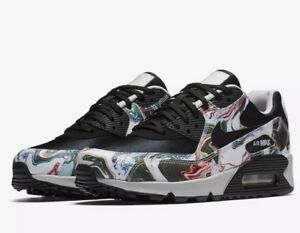 in stock 2a360 29cea Image is loading NWT-Women-s-Nike-Air-Max-90-Marble-