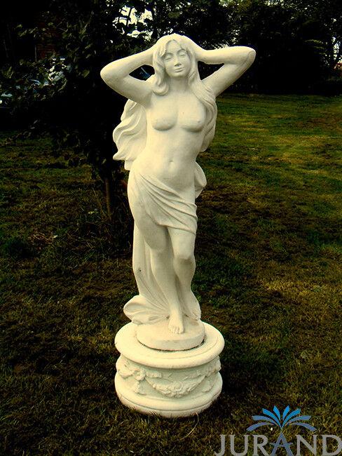 Scultura nobile atto erotico personaggio sculture DECORAZIONE DA GIARDINO STATUE STATUA 120cm
