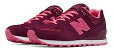 Womens New Balance 574 Size 5.5 Nouveau Lace Pack Magenta Neon Pink Purple NIB