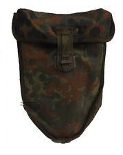 Bundeswehr Spatentasche Flecktarn f. Koppeltragesystem Feldspatentasche