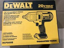 "DEWALT DCF889B 20V MAX Lithium Ion 1/2"" High Torque Impact Wrench Tool Only"