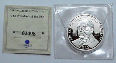~2000 MILLENNIUM~ .999 SILVER~ $20 DOLLAR LIBERIA COIN~UNCIRCULATED~