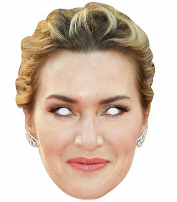 Kate Winslet Celebrita 'singolo 2d Carta Festa Maschera-attrice Hollywood-mostra Il Titolo Originale