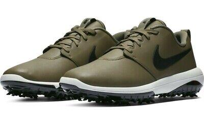 Nike Roshe G Tour Golf Shoes Size 9 5 Olive Summit White Black Mens Ebay