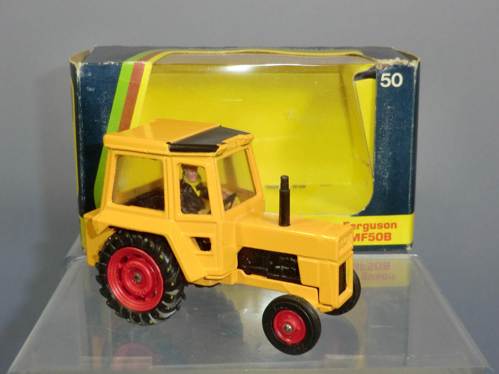 Corgi Juguetes Modelo No.50 Massey-Ferguson  50 B  Tractor MIB