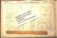 chevrolet corvette 1967 color wiring diagram 11 x 17 ebay rh ebay com 1958 Chevrolet Corvette 1966 Chevrolet Corvette