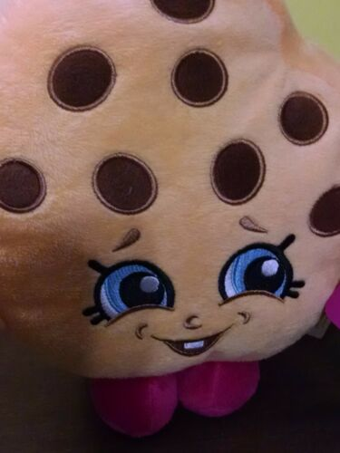 """Shopkins Chocolate Chip Kooky Cookie 8/"""" Pillow /&Throw Blanket 5yrs NEW 2016"""