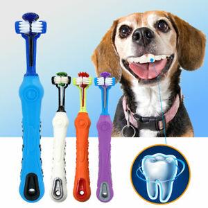 Cepillo-de-Dientes-para-Perros-y-gatos-Mascota-Higiene-Dental-limpiador-Blanco