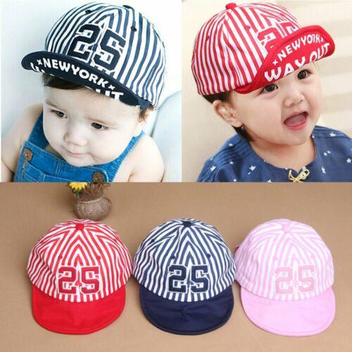 Summer Toddler Kids Baby Boy Girls Infant Cute Cotton Baseball Cap Sun Visor Cap