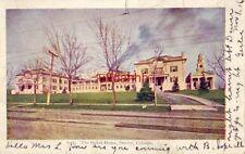 pre-1907 THE OAKES HOME, DENVER, CO.1906 tuberculosis recuperative center